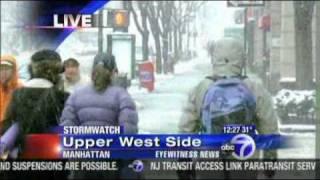 Blizzard warning extended new york