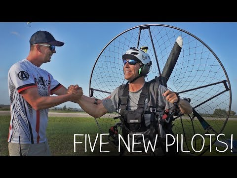 Learning To Fly A Paramotor!