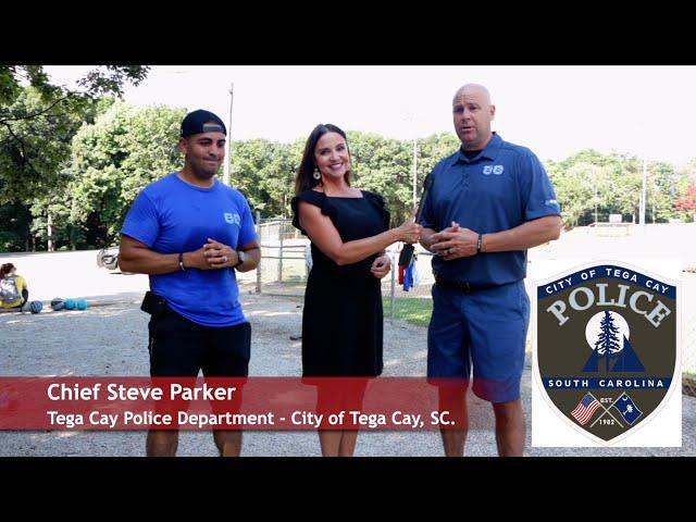 Tega Cay Police Camp Cadet