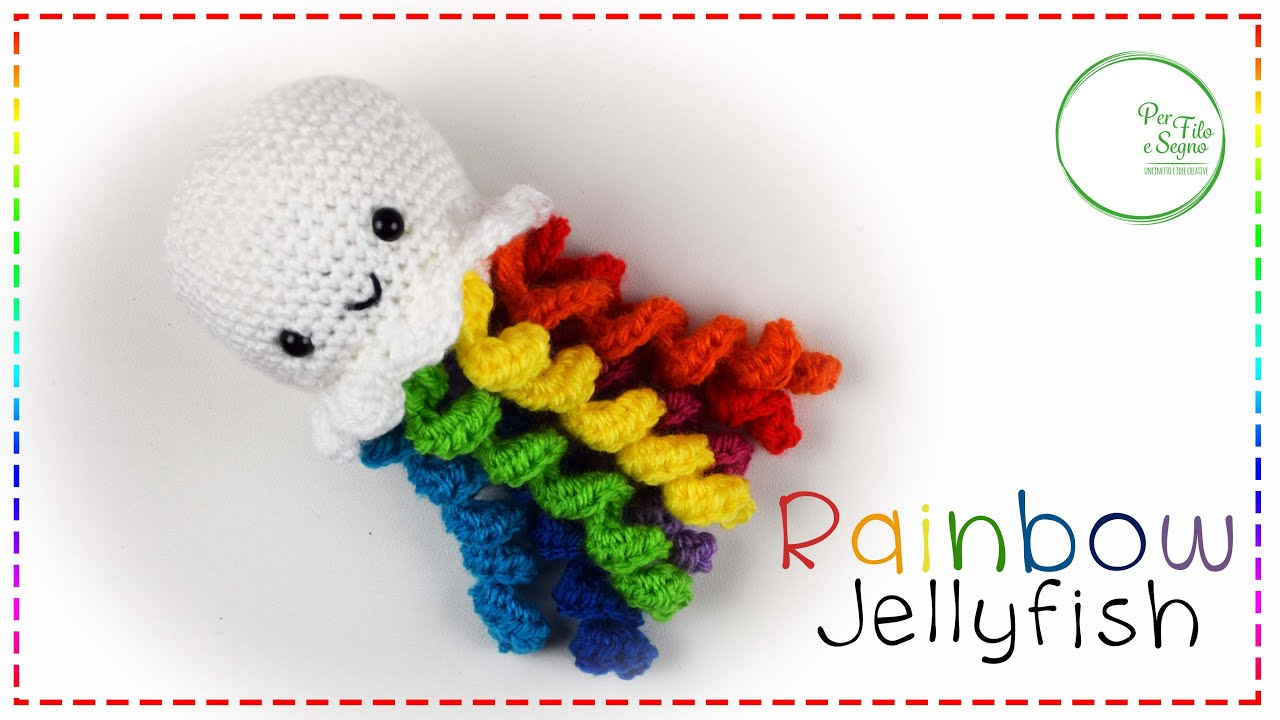 Tutorial Jellyfish Amigurumi Crochet | Crochet, Amigurumi, Crochet ... | 720x1280
