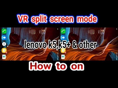 ec68e4853a0 How to on vr screen split (lenovo) - YouTube