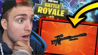 🔴 ON ATTEND LE NOUVEAU SNIPER SUR FORTNITE  ?! GAME ABONNES |LIVE FORTNITE FR