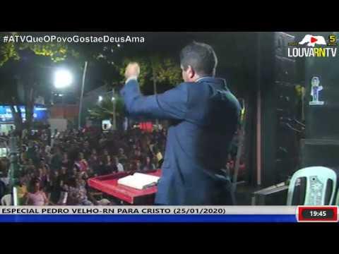 CRUZADA EM PEDRO VELHO-RN (25/01/2020)