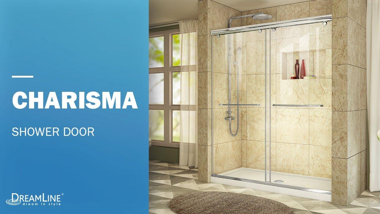 Dreamline Charisma Frameless Shower Door Bypass Opening