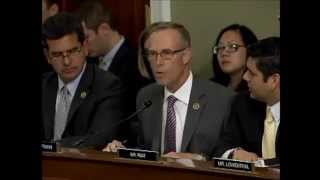 Rep.  Huffman Urges Land and Water Conservation Fund Reauthorization at Oct. 8 Markup