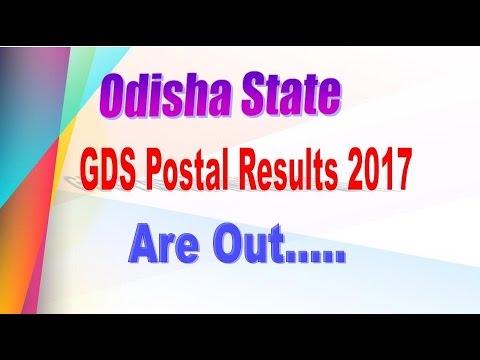 Odisha State GDS Postal Results Are Out 2017 TELUGU HEMANTH 