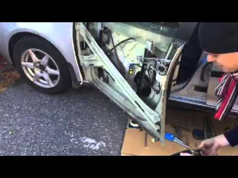 Golf Mk5 Remove Outer Panel Front Door Youtube