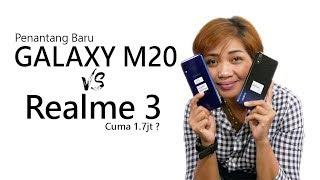 Masa Iya Samsung Galaxy M20 kalah sama Realme 3 ?