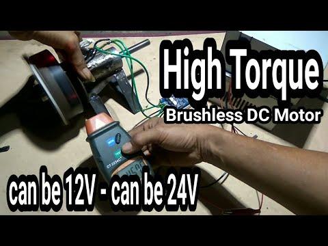 DIY Brushless DC Motor 18 poles stator and 12 poles rotor ...