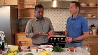 Sizzlefish: Pan Seared Atlantic Salmon & Fruit Salsa