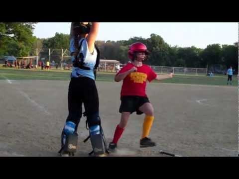 Skylar hits a home run