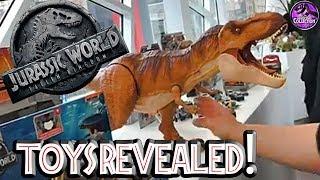 FALLEN KINGDOM Toys Revealed!! | Jurassic World | Juegos, Juguetes y Coleccionables
