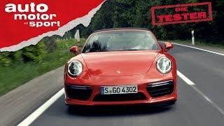 Porsche 911 Turbo Cabrio: Muss das Dach wirklich weg? - Die Tester | auto motor und sport