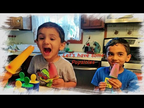 How to make homemade popsicles - ZJfun