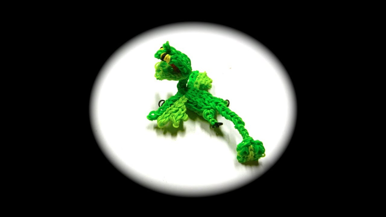 How To Loom Your Dragon Scauldron Baby 1 Loom YouTube