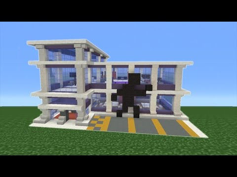 minecraft tutorial how to make a gym part 1 of 2 youtube