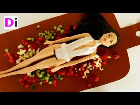 Шьем купальник для куклы Барби Bon Appétit - Katy Perry