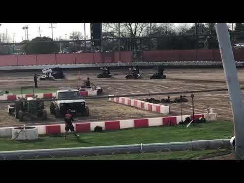 WoO Delta Speedway 3/17/19 Jr Heat 1B Ty