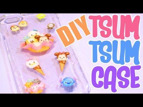 DIY UV Resin Tsum Tsum iPhone Case Tutorial! [SUPER EASY!]