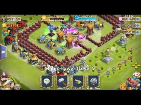 Castle Clash - Magic Towers | Cleared L10 Finally