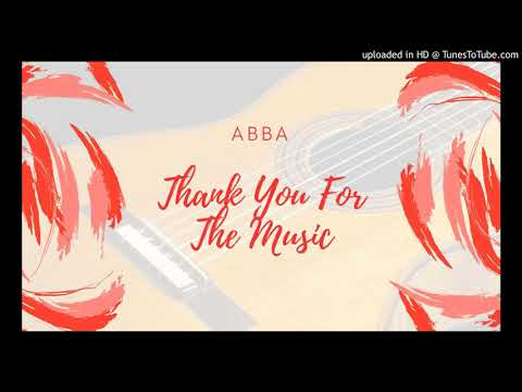 Thank You For The Music - ABBA - Acoustic Guitar Remix