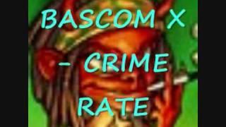 BASCOM X - CRIME RATE (MAESTRO RIDDIM 2009)
