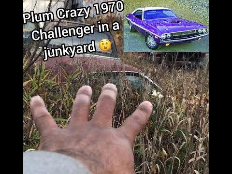 Plum Crazy 1970 Challenger Found In A Junkyard!