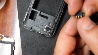 Samsung GALAXY Ace замена разъема контактов батареи