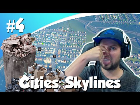 WAT EEN ROMMEL!! (Cities Skylines #4)