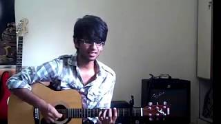""" Sun Raha Hai Na tu "" Aashiqui 2 Guitar cover with chords"