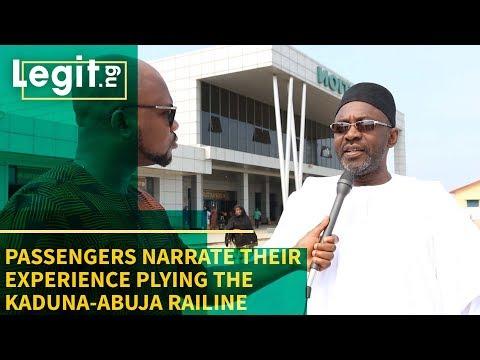 Passengers Narrate Their Experience Plying the Kaduna-Abuja Railine - Nigeria Street Gist | Legit TV