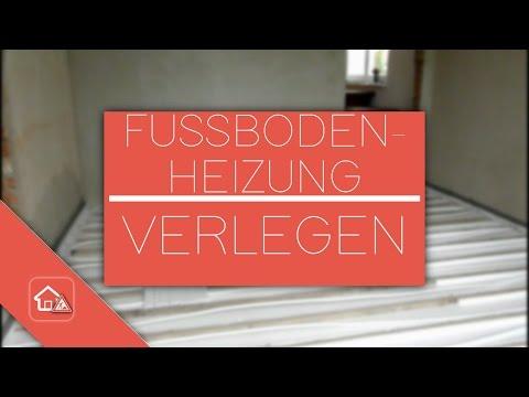 Fußbodenheizung im Altbau verlegen - Heimwerker SPEZIAL - PART 2/3