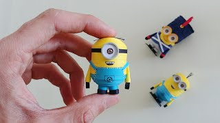 How To Make 3D Quilling Minion (Stuart)/Artoholic/3D Quilling