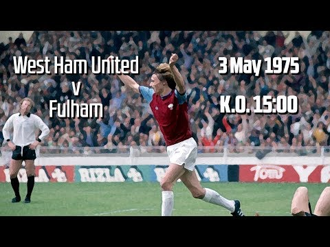 LIVE: 1975 FA Cup Final – West Ham United v Fulham