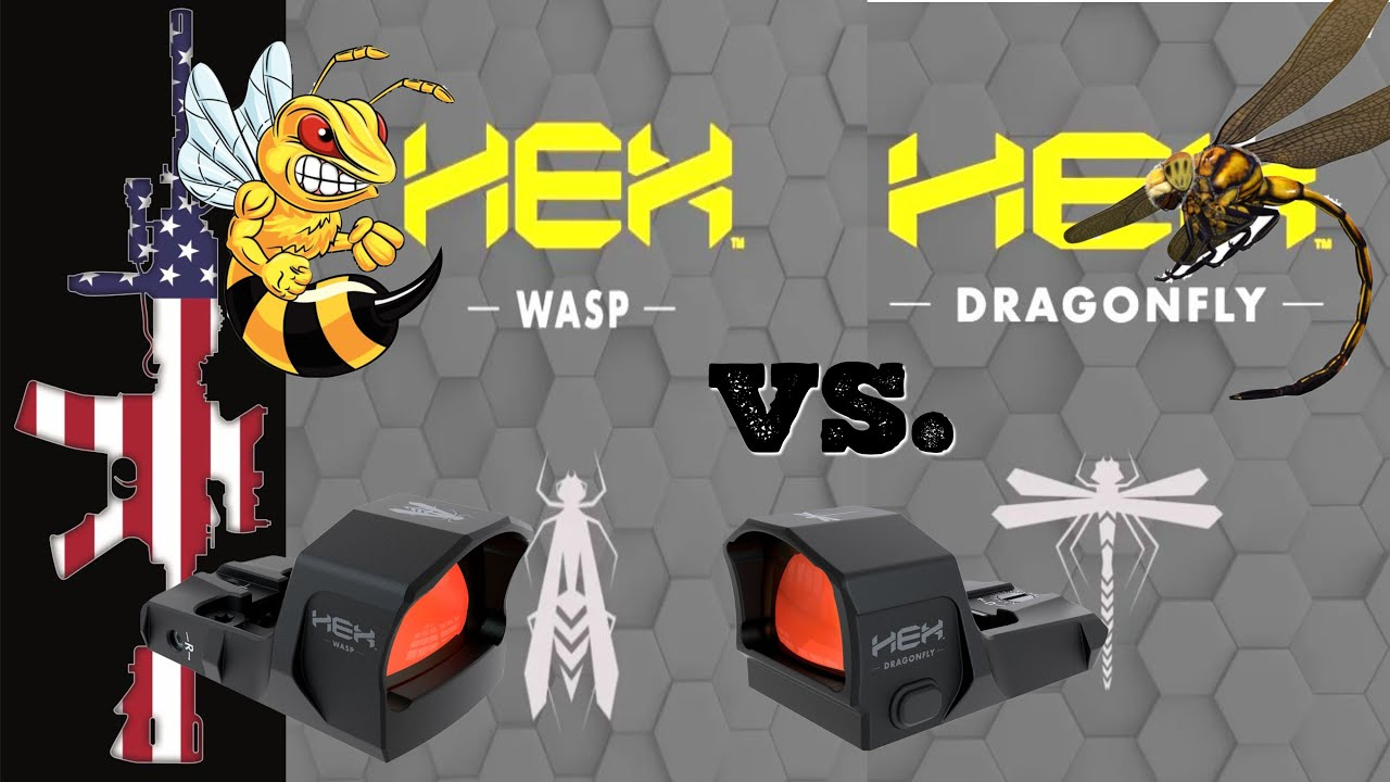 HEX Red Dot's - Dragonfly vs Wasp