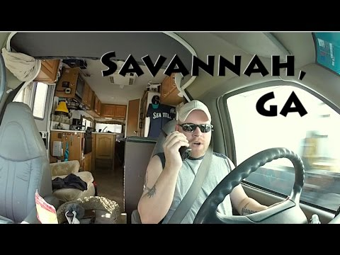 Savannah, GA ~ Forsyth Park, Walkie Talkies, & Waffle House