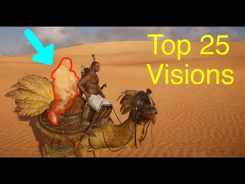 Assassin's Creed Origins: Top 25 Desert Visions (Mirages)