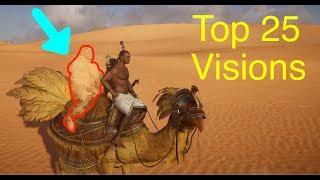 Assassin's Creed Origins: Top 25 Desert Visions (Mirages)