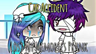 Car Accident And Losing My Memories prank | Gacha Life | DIVINE DRAGON