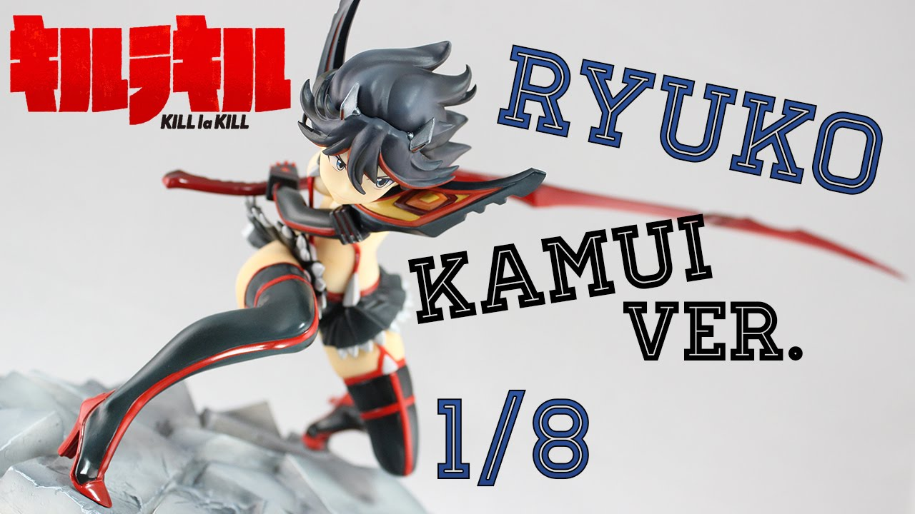 Ryuko Matoi Kamui Senketsu Ver Kill La Kill 1 8 Figure Unboxing Ita