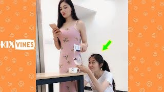 Funny videos 2019 ✦ Funny pranks try not to laugh challenge P110