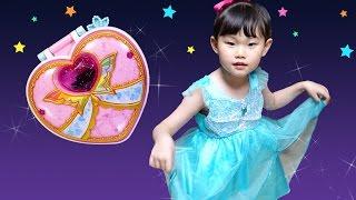 아이린으로 변신! 라임이의 시크릿쥬쥬 보석시계 요정키우기 성장게임 장난감 놀이 LimeTube & Toy 라임튜브