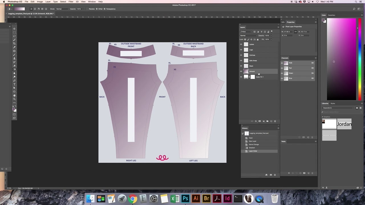 how to use teespring s legging design template youtube