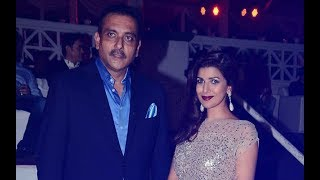 Ravi Shastri Bowled Over By Nimrat Kaur; Couple Secretly Dating Since 2 Years?