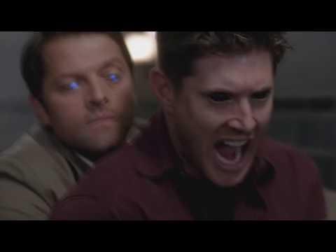 Дин (демон) пытается убить Сэма! (Сверхъестественное 10 сезон 3 серия)