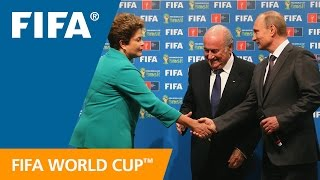 Brazil hands over world cup to russia
