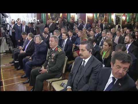 Russland und Türkei heben enge Zusammenarbeit hervor
