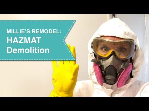 Millie's Remodel: HazMat Demolition Precautions