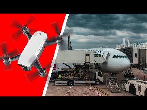 World's Longest Flight; Flying A Drone Overseas