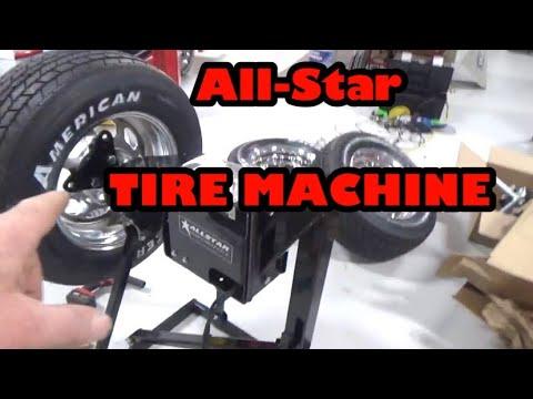 NEW RACE CAR TIRE MACHINE 👍👍👍